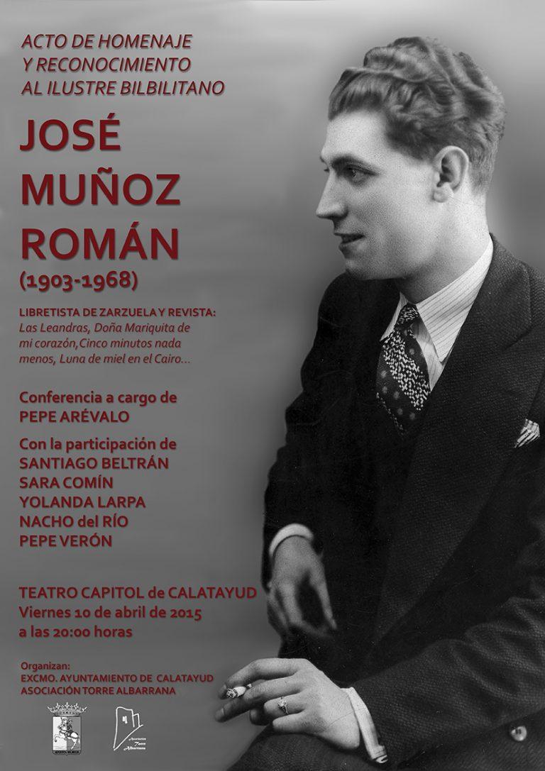 Homenaje a Muñoz Román. Abril 2015