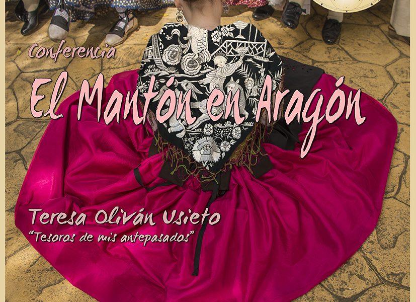 El mantón en Aragón. Septiembre 2016