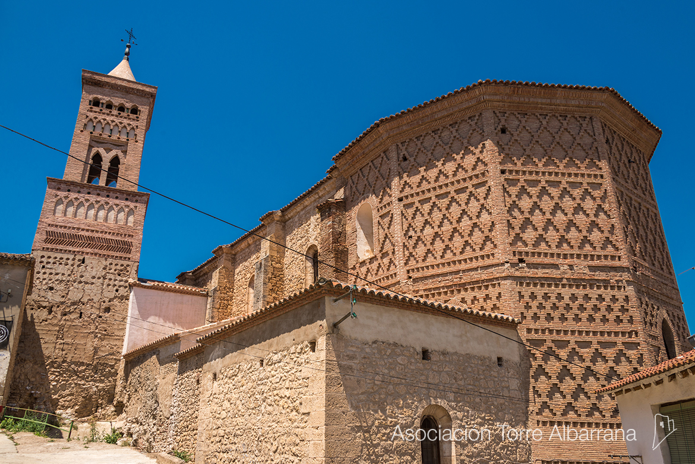Resultado de imagen de ábside mudéjar Belmonte de Gracián