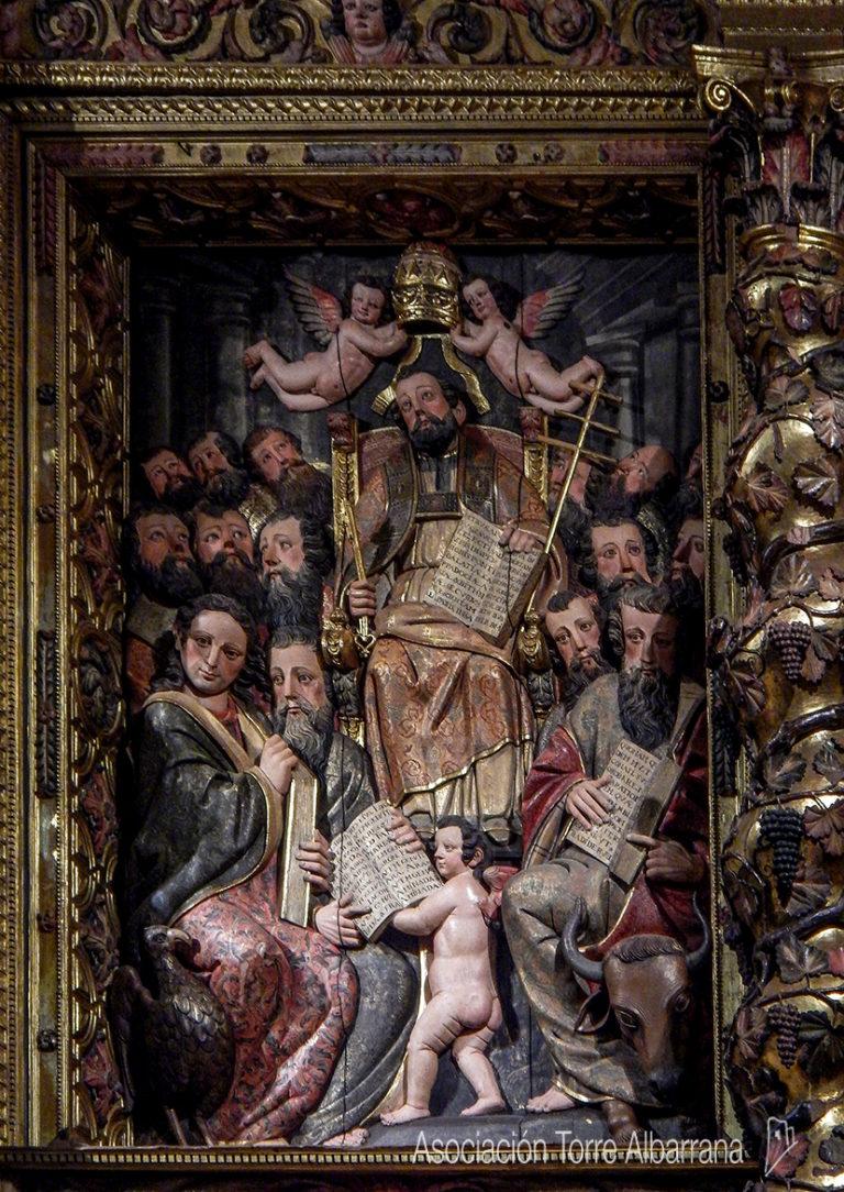 Rehabilitación del retablo de San Pedro de los Francos