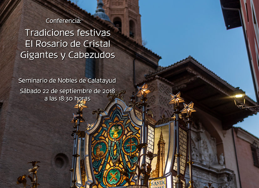 Tradiciones festivas. El Rosario de Cristal. Gigantes y Cabezudos. Septiembre 2018