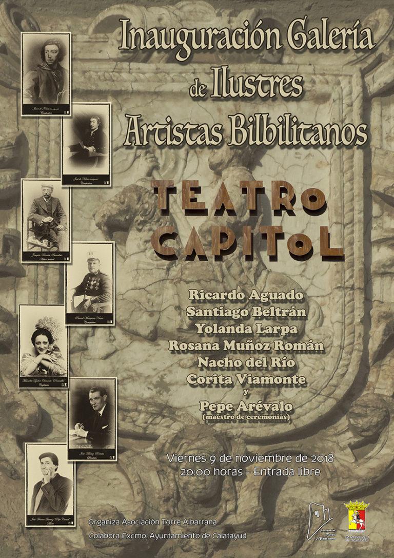 Homenaje ilustres artistas bilbilitanos