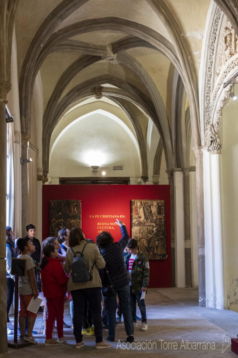 Visitas de los escolares bilbilitanos al museo de Santa María