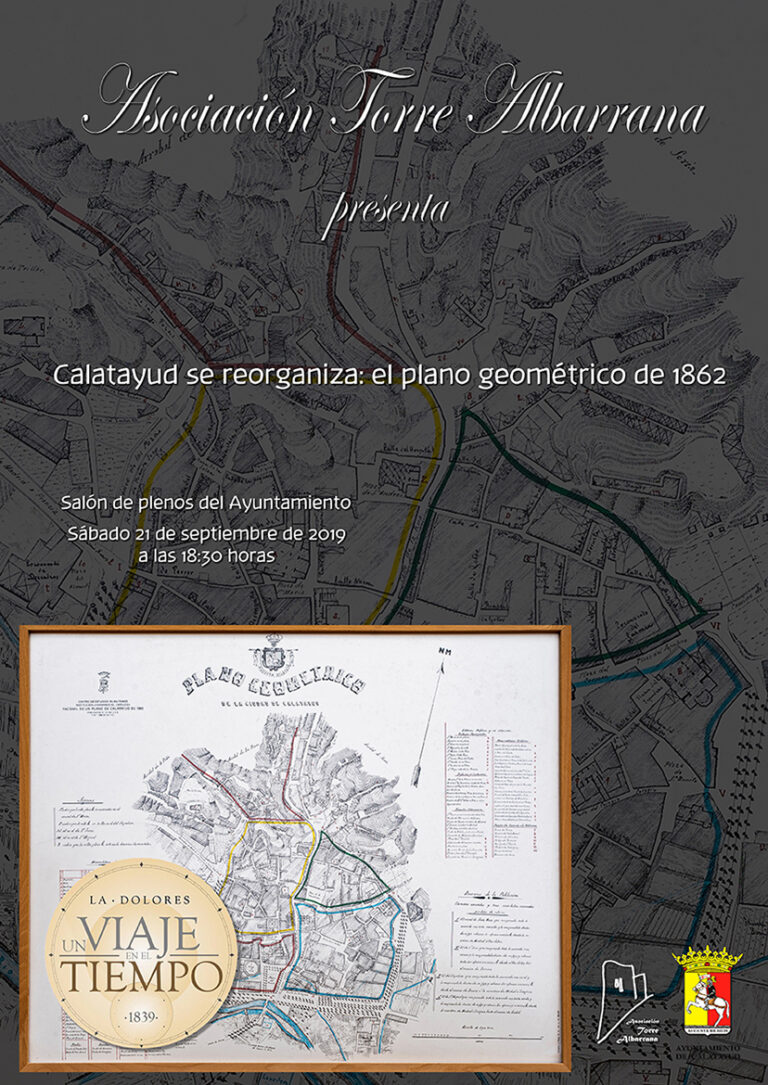 Calatayud se reorganiza: el plano geométrico de 1862