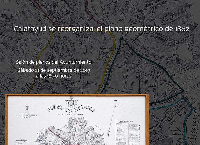 Conferencia Calatayud se reorganiza. El plano geométrico de 1862