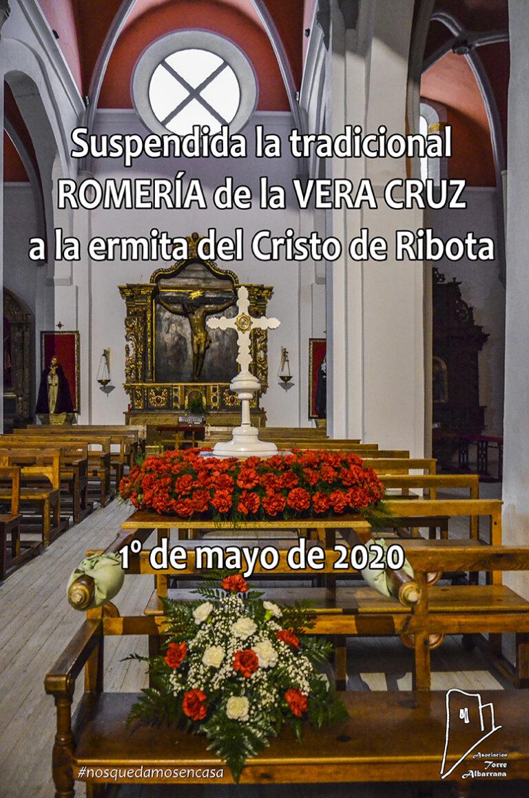 Suspendida la romería del 1º de mayo