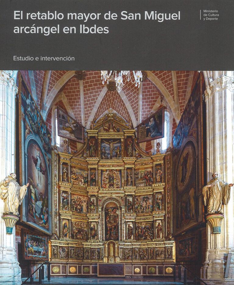 Retablo mayor de la iglesia de Ibdes